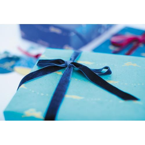 "3 sheet 20""x30"" Turquoise E+E Gift Wrap (Eric + Eloise Option)"