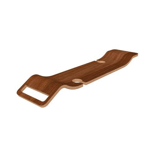 Product Image - Tombolo 8 Bathtub Rack with Wine Glass Holders - Walnut