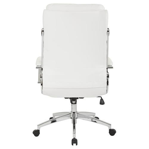 Office Star - Executive Faux Leather High Back Chair