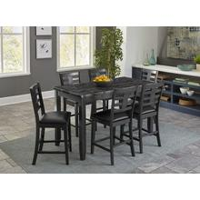 See Details - Canaan Counter Height 4-Pack, Grey