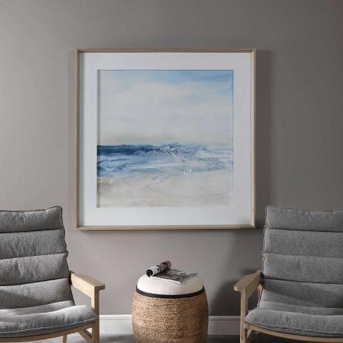 Surf and Sand Framed Print