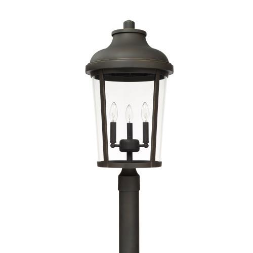 Capital Lighting - 3 Light Outdoor Post Lantern