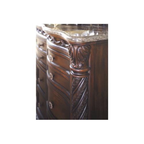 North Shore Dresser Dark Brown