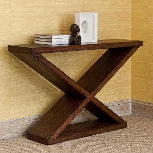 Ambella Home - Salone Scuro Double-V Console Table
