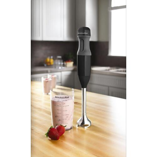 KitchenAid Canada - 2-Speed Hand Blender - Onyx Black
