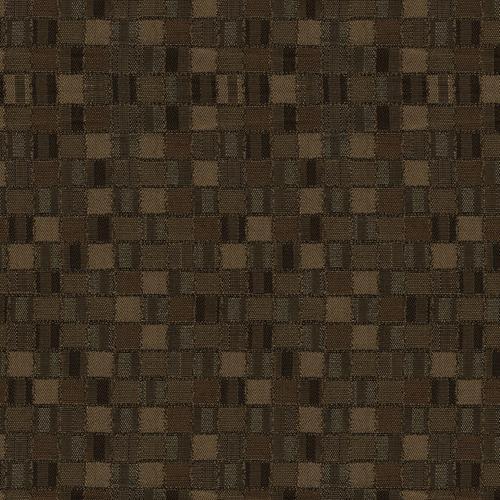 Flash Furniture - 18.5''W Church Chair in Empire Chocolate Fabric - Gold Vein Frame
