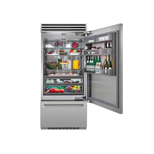 "36"" PRO Built-In Refrigerator/Freezer Right Hinge"