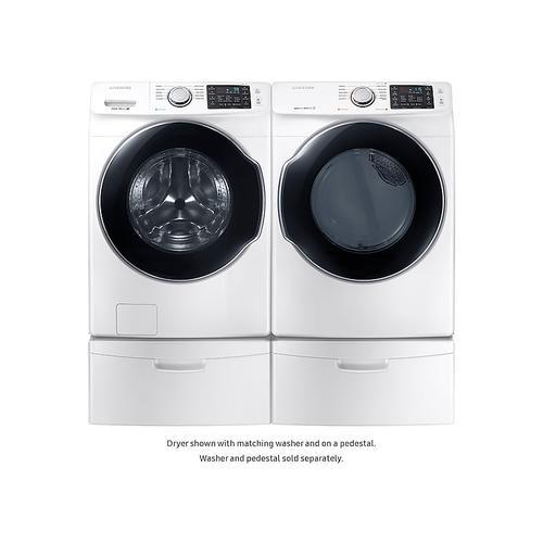 Samsung - 7.4 cu. ft. Gas Dryer in White