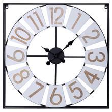 Metal&Wood Wall Clock