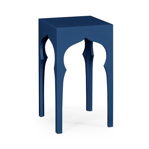 Square lamp table (Patriot Blue)