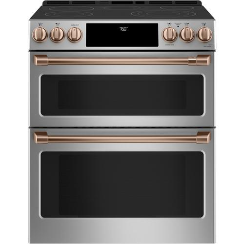 Café™ Front Control Electric Knobs and Handles - Brushed Copper