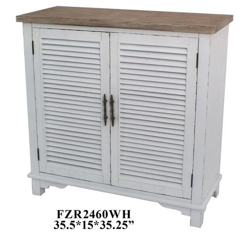 """Crestview Collections - 35.5X15X35.25"""" WOOD CABINET, 1PC PK, 15.11'"""