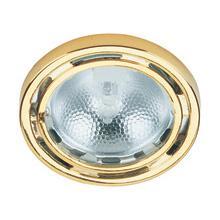 Micro Recess Lite, Polished Brass, 20w/jc Type