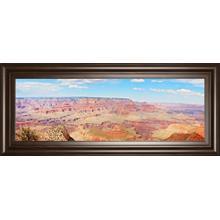 """Grand Canyon Panorama I"" By Sylvia Coomes Framed Print Wall Art"