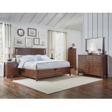 6 Piece Set (King Storage Bed, Dresser, Mirror and Nightstand)