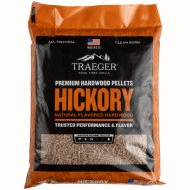 Traeger Hickory BBQ Wood Pellets