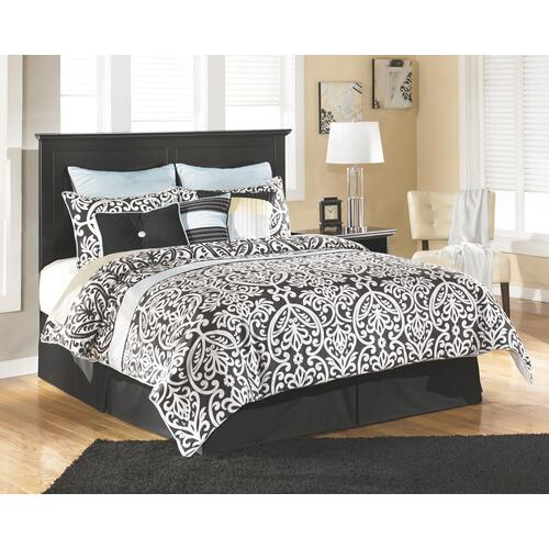 King/california King Panel Headboard With Mirrored Dresser and 2 Nightstands