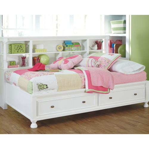 Kaslyn Twin Bookcase Bed