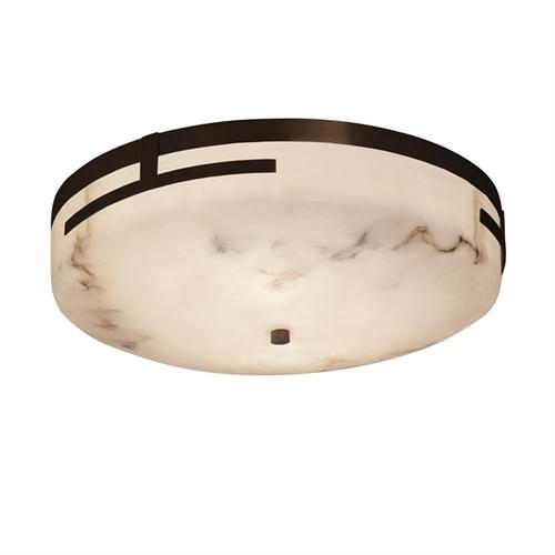 "Atlas 19"" LED Round Flush-Mount"