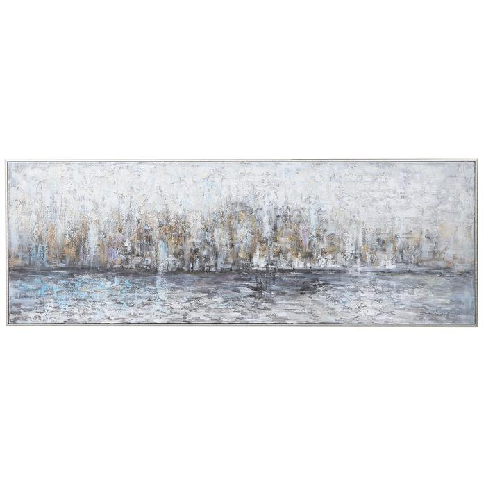 Uttermost - City Reflection Hand Painted Canvas