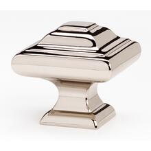 Product Image - Geometric Knob A1525 - Unlacquered Brass