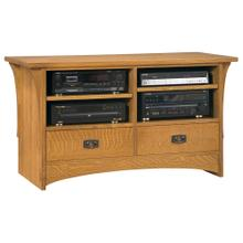 Oak 50-inch TV Console