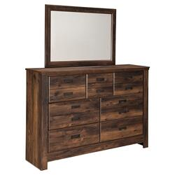 Quinden Dresser and Mirror