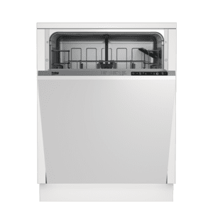 BekoTall Tub Dishwasher with 14 place settings, 48 dBa Fully integrated panel ready