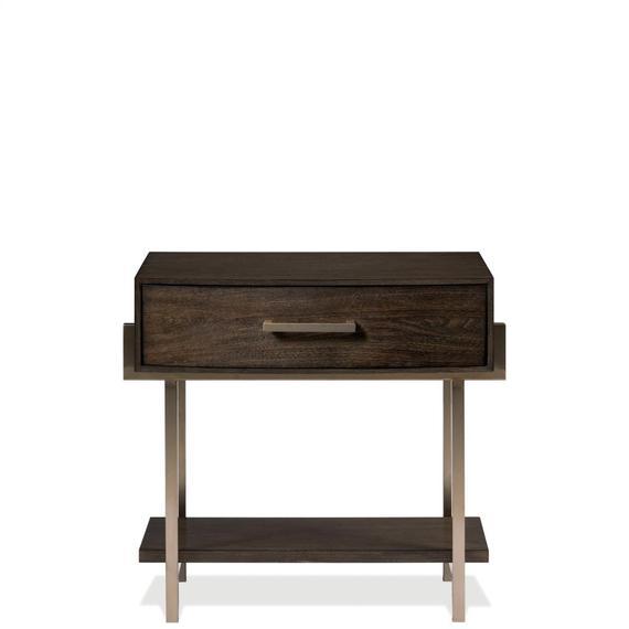 Riverside - Monterey - One Drawer Nightstand - Mink Finish