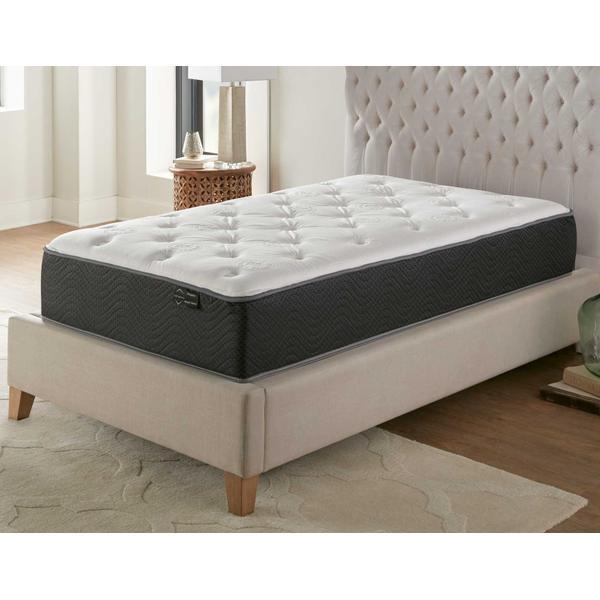 See Details - Silver Sleep Bamboo Plush 11.5-inch Mattress, Twin