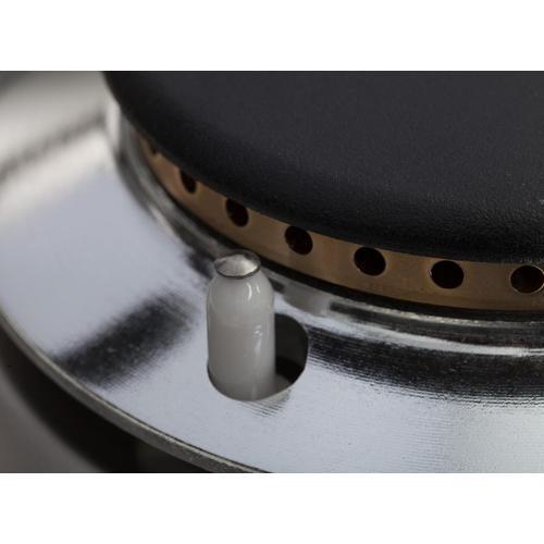 Product Image - Professional Plus 40 Inch Dual Fuel Liquid Propane Freestanding Range in Matte Graphite with Chrome Trim