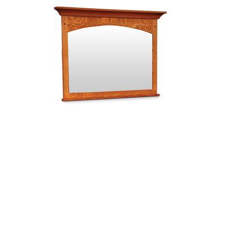 """Royal Mission Mule Chest Mirror with Walnut Inlay, 46""""w"""