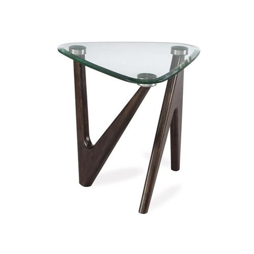 Pie End Table