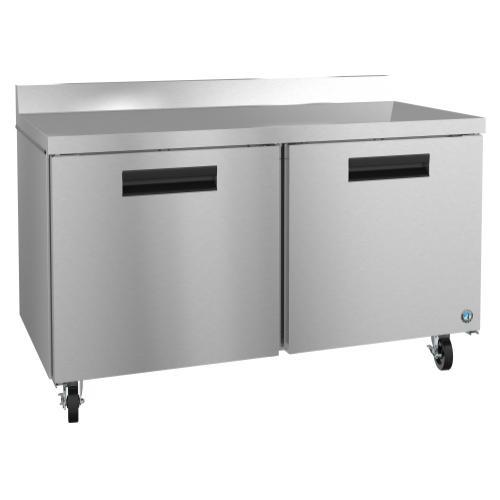 Hoshizaki - WF60A, Freezer, Two Section Worktop, Stainless Doors