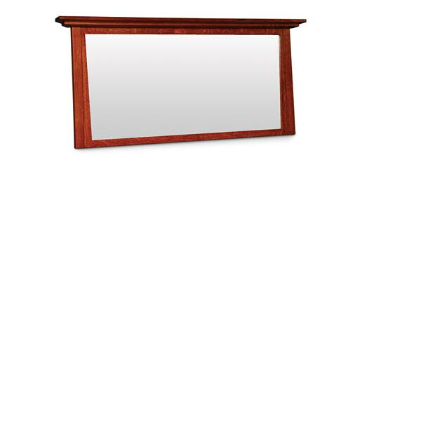 "McCoy Bureau Mirror, 57 3/4"", Large"