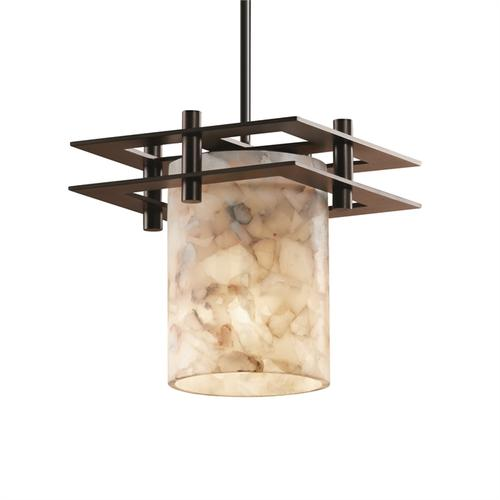 Metropolis 1-Light Small Pendant (2 Flat Bars)