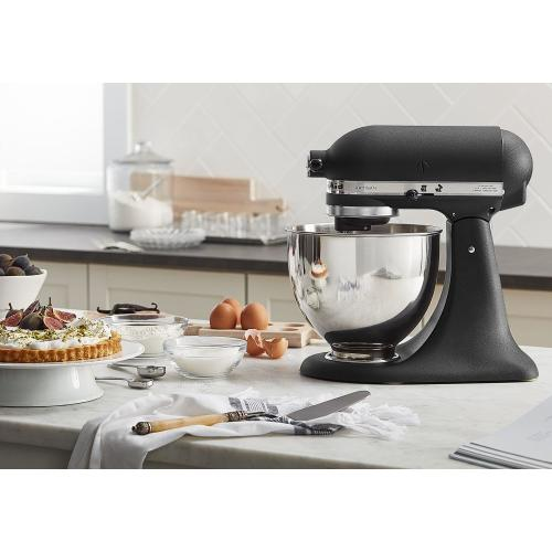 Artisan® Series 5 Quart Tilt-Head Stand Mixer - Cast Iron Black