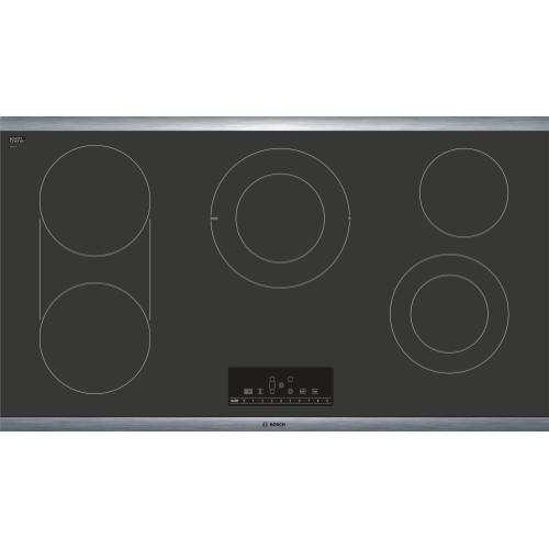 800 Series Electric Cooktop 36'' Black NET8668SUC