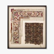 0307690047 Vintage Rug Map Wall Art