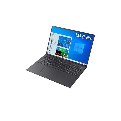 "LG - 16"" Black 16:10 WQXGA gram Laptop with Windows 10 Pro, 16GB RAM, 1TB SSD, 11th Gen Intel® Quad Core™ i7 Processor, Intel® Evo™ Platform & Thunderbolt™ 4"