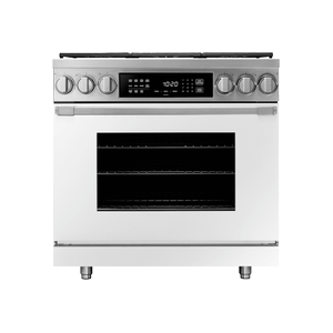 "Dacor30"" Induction Pro Range, Bright White, Natural Gas"