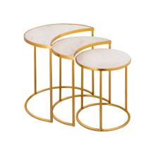 View Product - Crescent Nesting Tables by Inspire Me! Home Decor