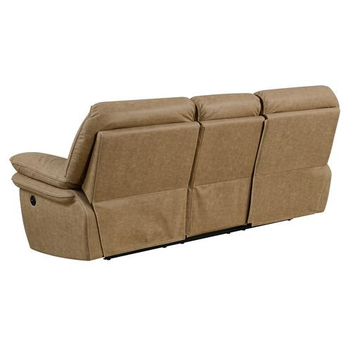Allyn Power Reclining Sofa, Desert Sand U7127-18-15