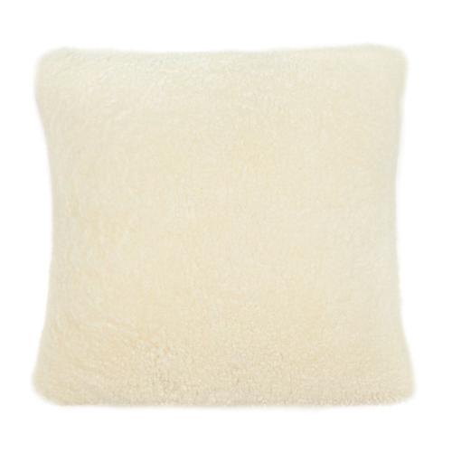 "Tov Furniture - New Zealand Sheepskin 20"" Pillow"