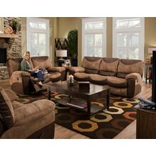 Reclining Sofa / Reclining Loveseat - Saddle