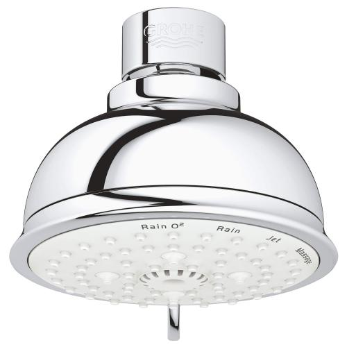 """Product Image - Tempesta Rustic 100 Shower Head, 4"""" - 4 Sprays, 2.5 Gpm"""