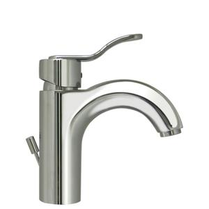 Wavehaus single-hole, single-lever lavatory faucet with pop-up waste. Product Image