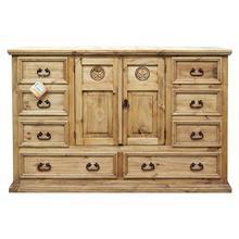 Mansion Dresser W/ Star