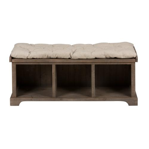 Slater Mill Bench With Storage