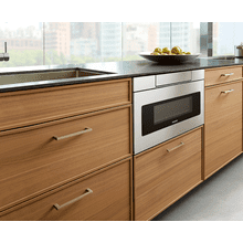 """View Product - 24"""" Microwave Drawer; Hidden Control Panel; Automatic Drawer Opening System"""
